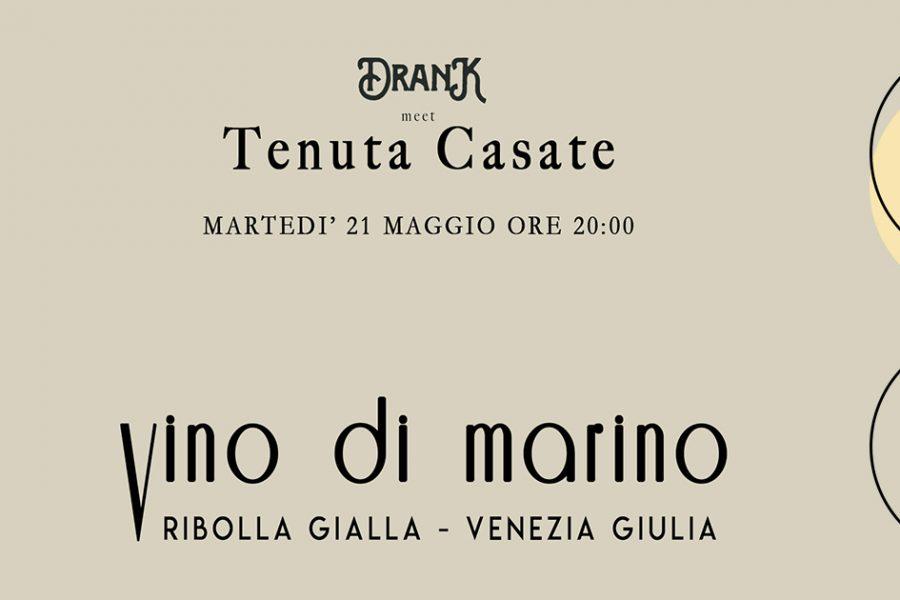 """""""Vino di Marino"""", nuovo concept di degustazione DranK"""