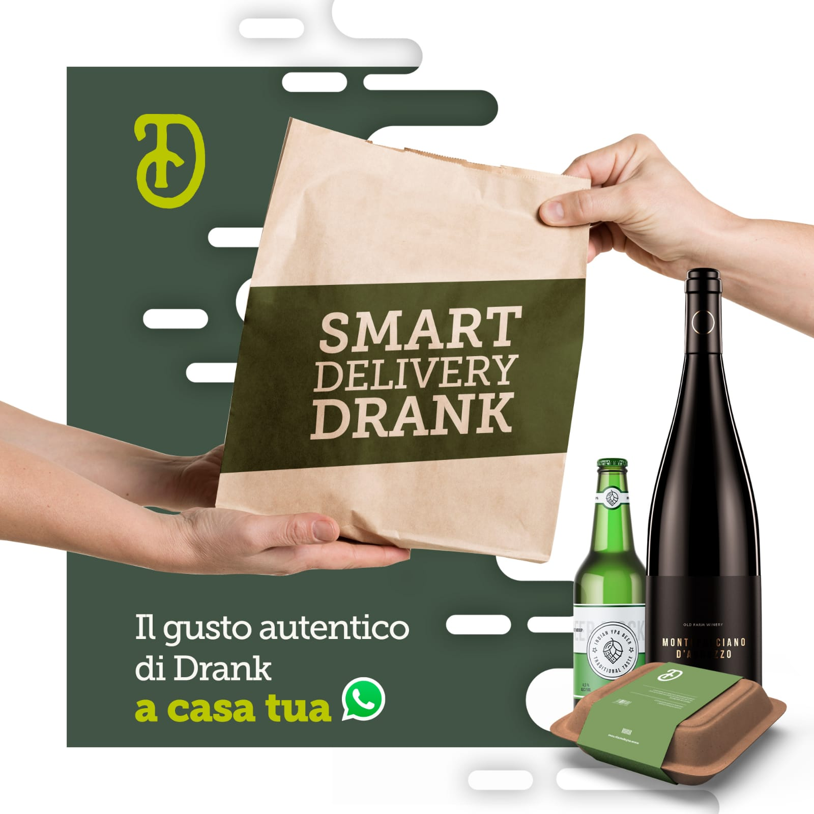 smart delivery drank